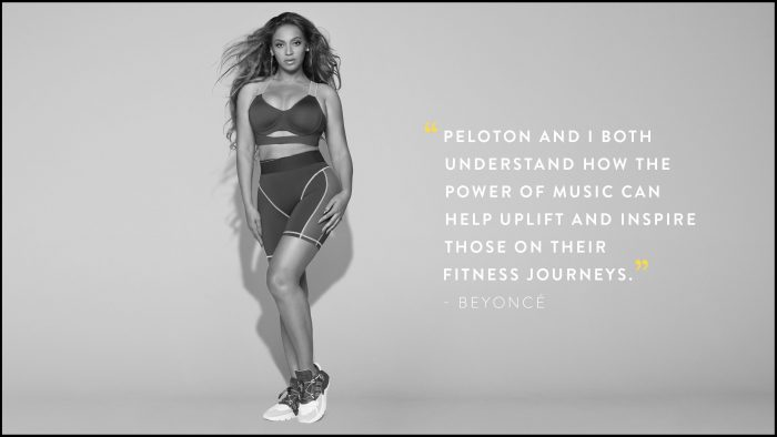 Peloton Beyonce