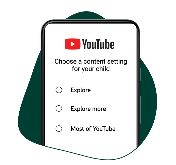 Giving parents content options on YouTube