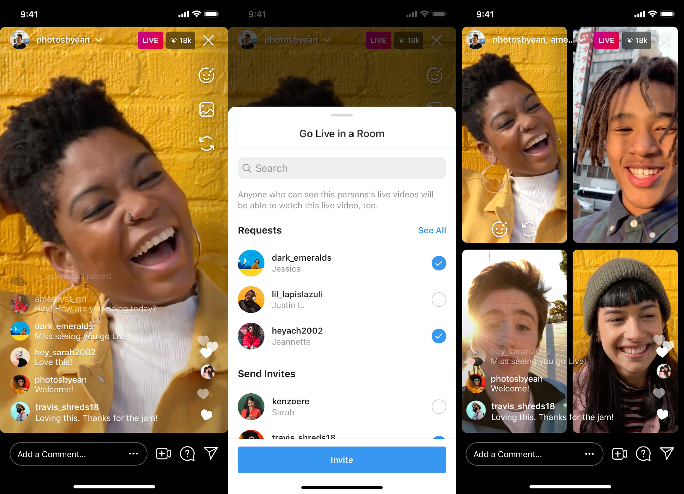 Instagram's new Live Rooms lets up to 4 live stream together - RouteNote  Blog