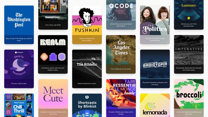 Apple Podcast Channels