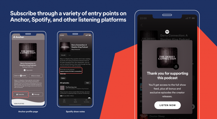 Spotify Paid Subscribers example 2