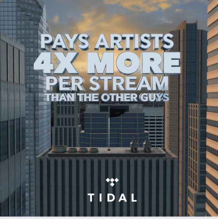 TIDAL ad