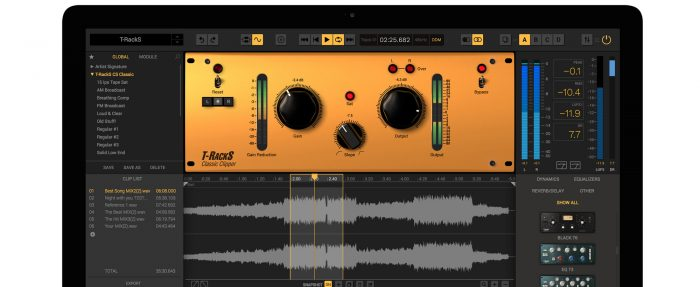 free plugin t-racks classic clipper mastering plugin